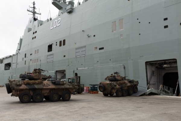 Two Australian naval ships to call at Cam Ranh port May 7-10
