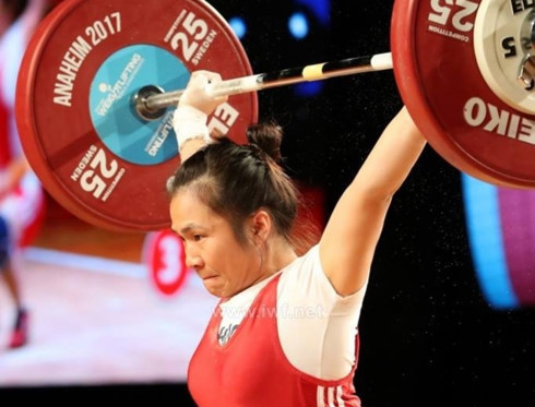 Nine medal haul for Vietnamese athletes at Asian Weightlifting Championships