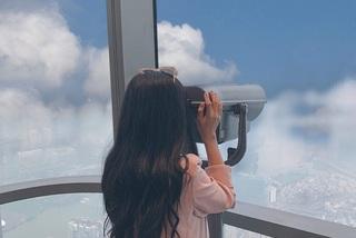 'Sống ảo trên mây' ở Đài quan sát Skyview cao nhất Đông Nam Á