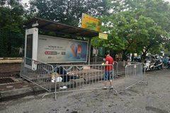 Hà Nội: Tá hỏa phát hiện người đàn ông chết ở điểm chờ xe buýt