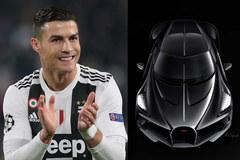 Ronaldo cực phẩm tậu siêu xe Bugatti 11 triệu euro
