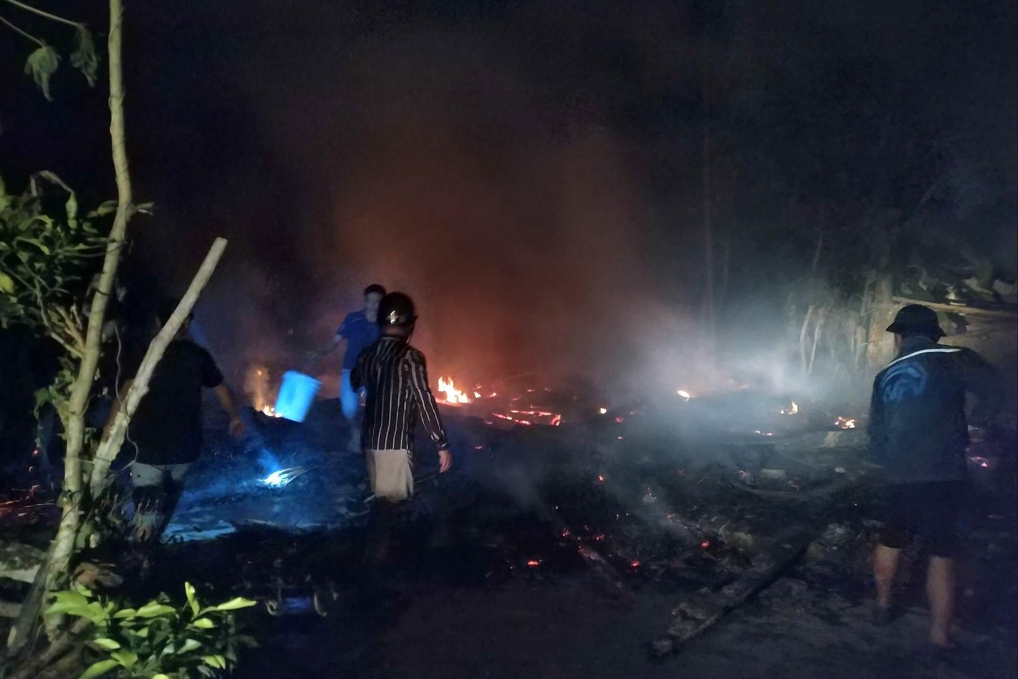 cháy nhà,Hà Tĩnh,cháy lớn