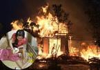 Người đàn bà neo đơn khóc ngất, bất lực nhìn ngôi nhà cháy rụi