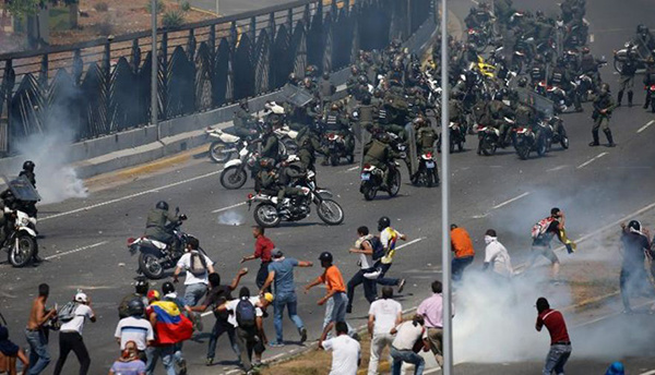 Venezuela,đảo chính Venezuela,khủng hoảng Venezuela
