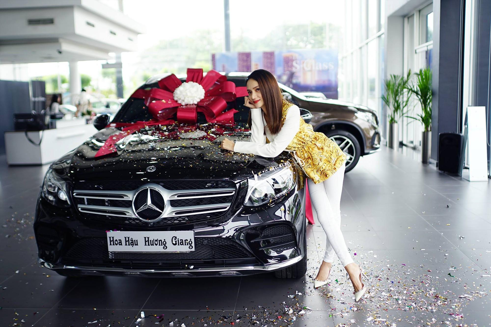 Ca sĩ Phạm Quỳnh Anh tậu xế sang Mercedes-Benz GLC gần 2 tỷ
