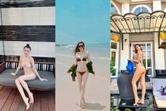 Loạt sao Việt diện bikini khoe thân hình nóng bỏng ngày lễ