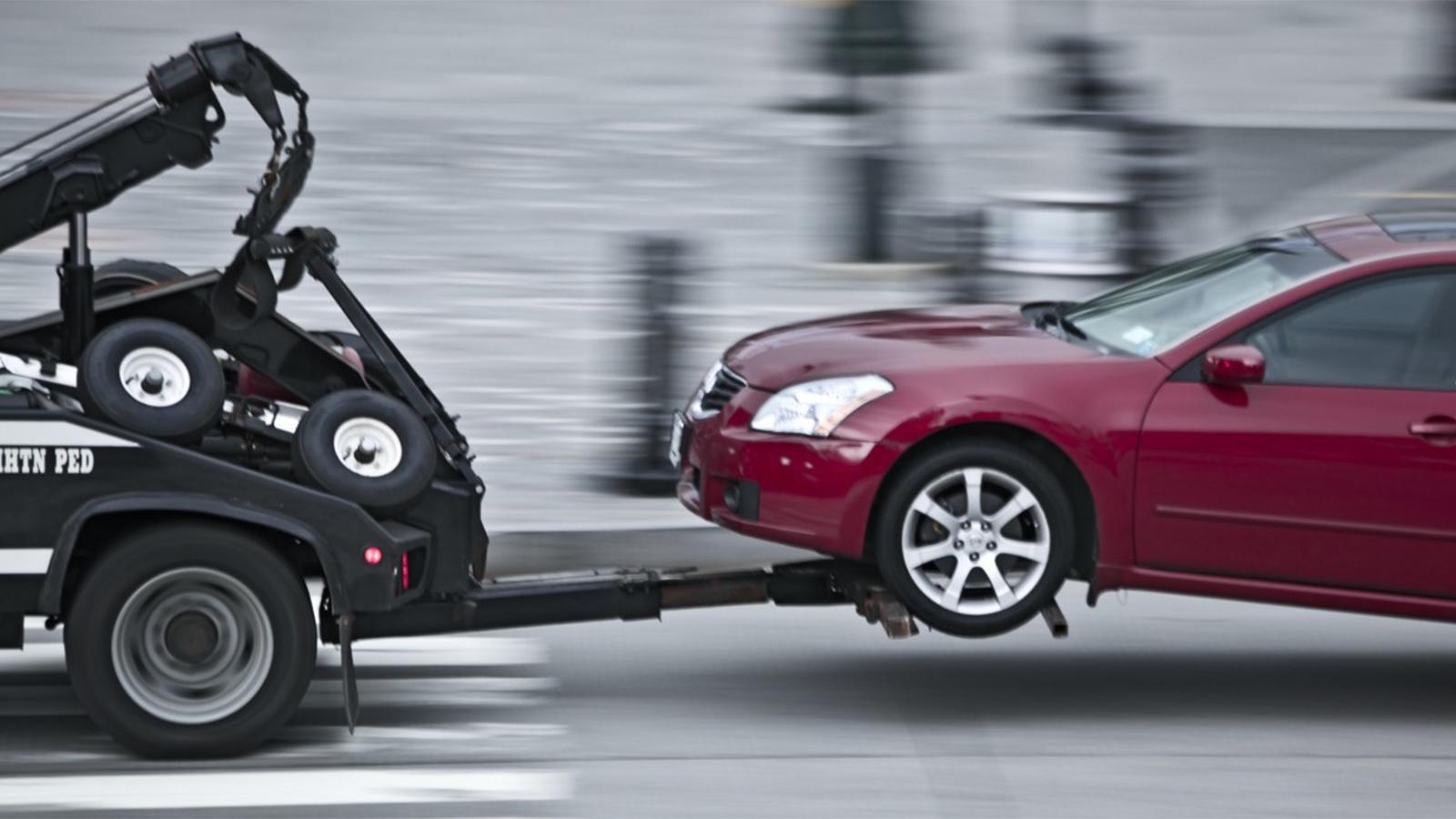 Lưu ý khi kéo xe gặp sự cố bằng xe cứu hộ