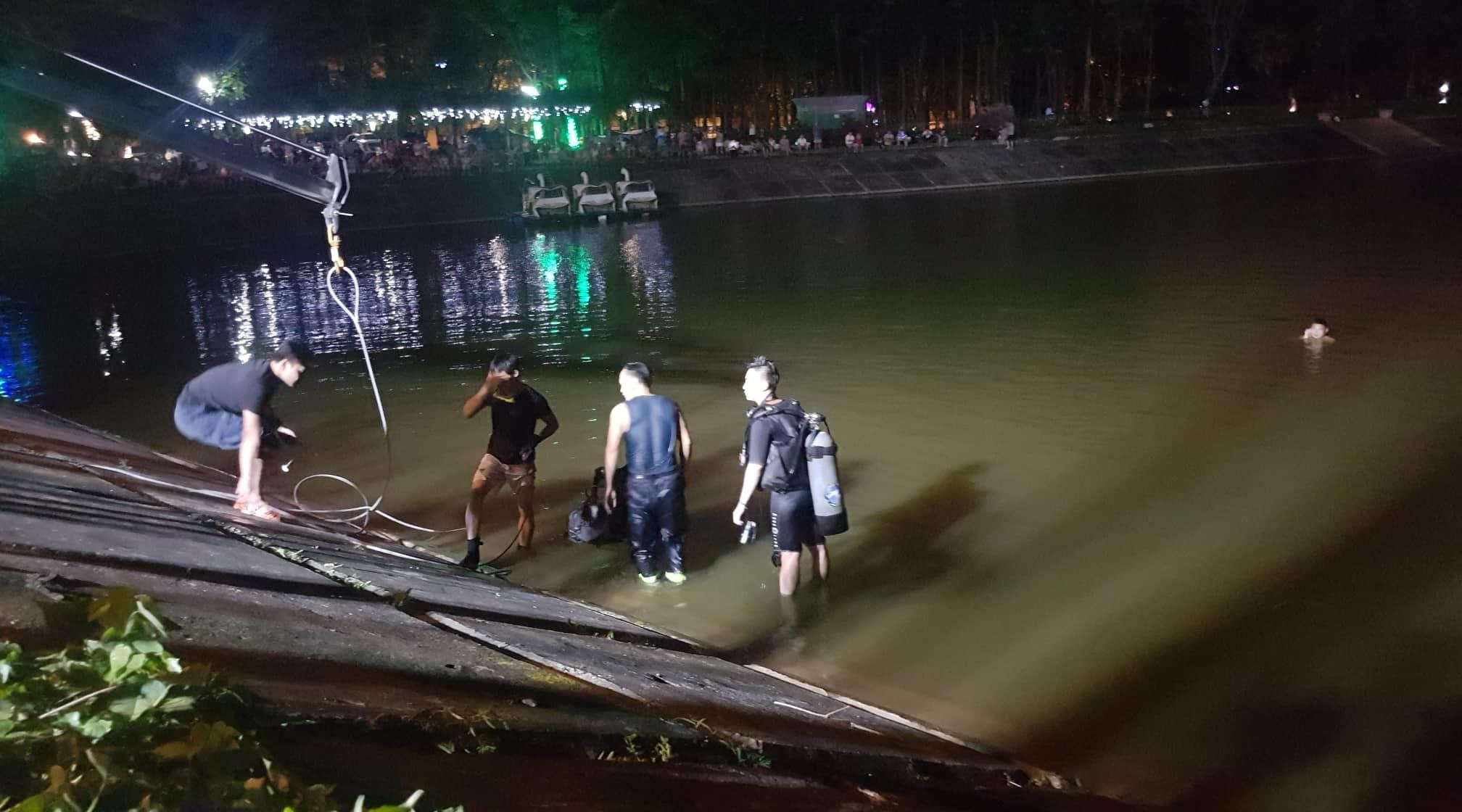 hồ Linh Đàm,tai nạn giao thông
