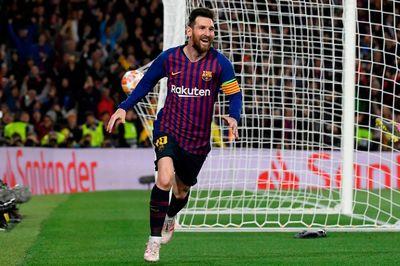 Messi rực sáng, Barca đè bẹp Liverpool