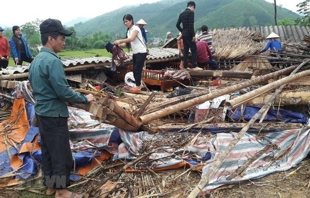 Whirlwinds and flooding cause losses for Lao Cai