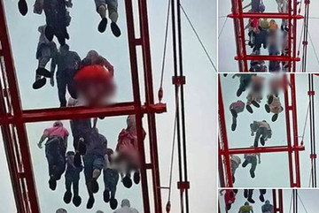 Du khách nữ lo sợ bị chụp lén trên cầu kính 5D đầu tiên ở Mộc Châu