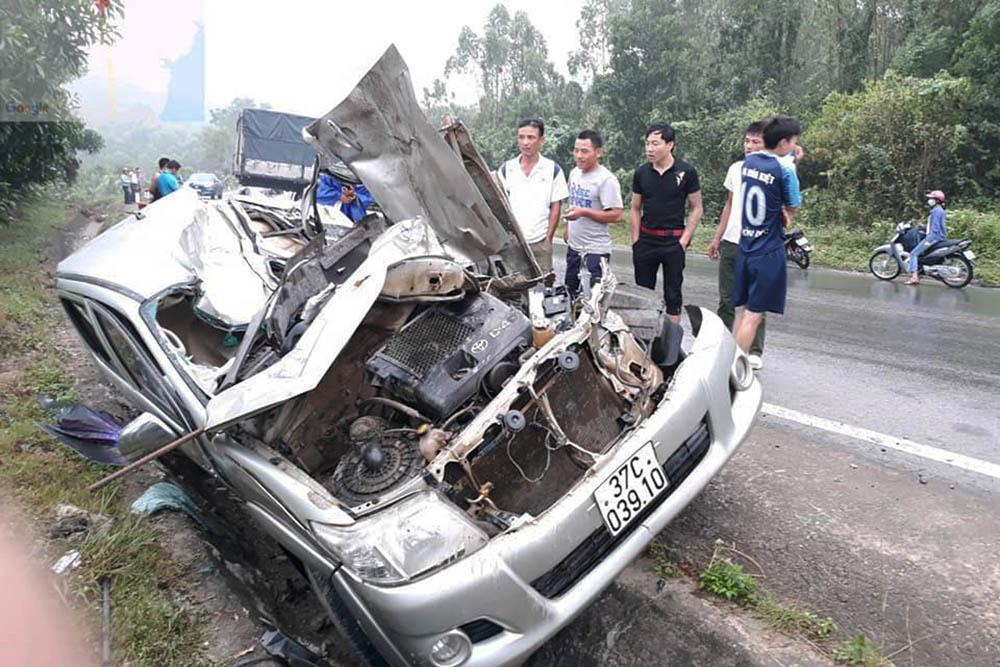 tai nạn,TNGT,Nghệ An,tai nạn giao thông