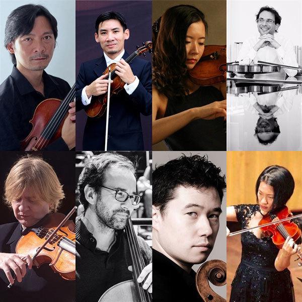 L'Orchestre National de France soloists stage 'Strings Party' concert