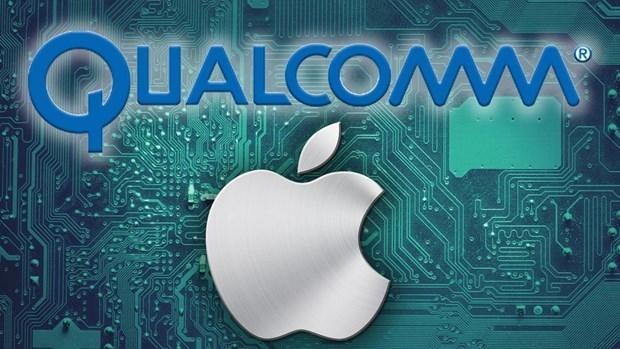 Qualcomm 'bỏ túi' 4,7 tỷ USD tiền bản quyền từ Apple