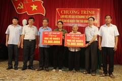 Hộ nghèo ở Thái Bình được tài trợ xây nhà