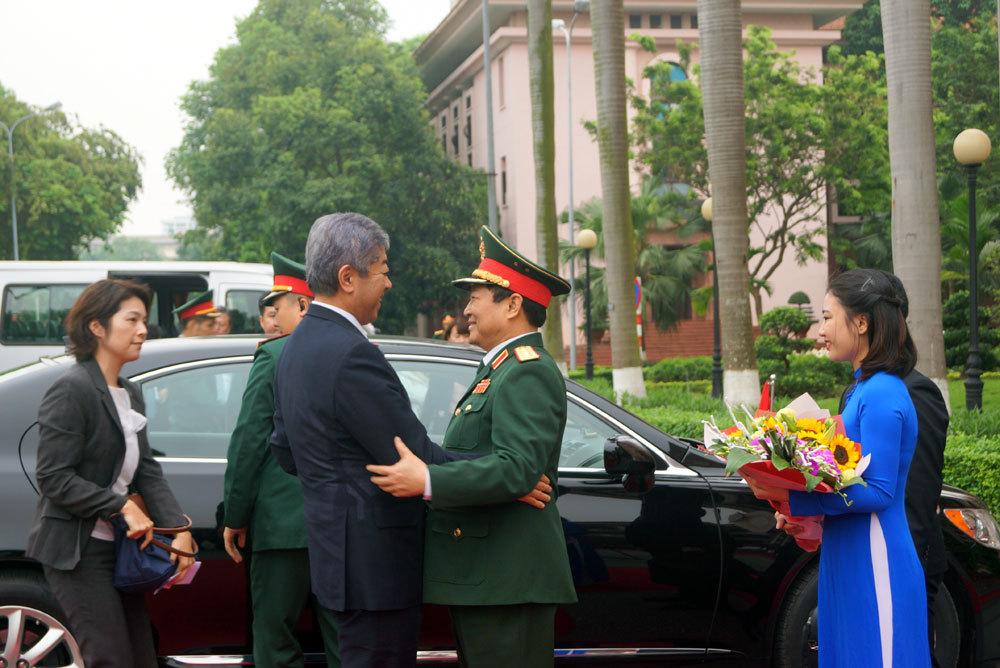 Nhật Bản,Bộ trưởng Quốc phòng,công nghiệp quốc phòng,gìn giữ hòa bình
