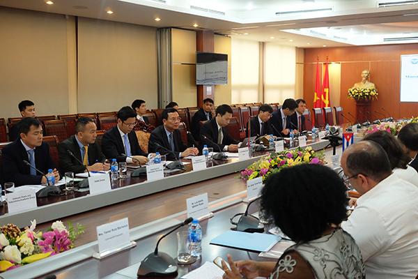 Việt Nam sẽ giúp Cuba phát triển ngành ICT, Chính phủ điện tử và 4G
