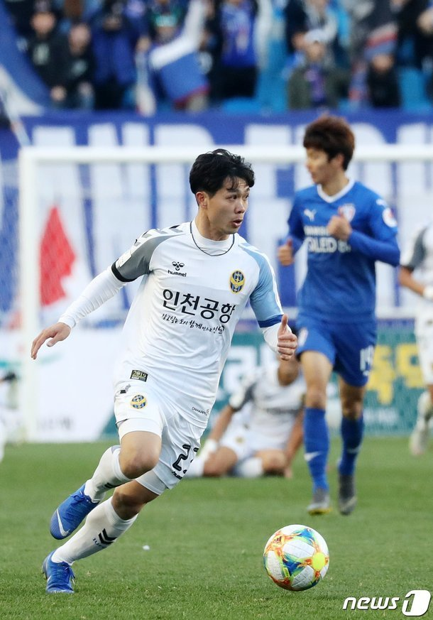 Công Phượng,K-League,Incheon United,HAGL