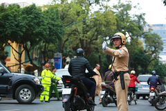 Hà Nội phân luồng giao thông phục vụ Quốc tang ngày 3/5