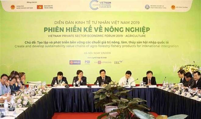Vietnam Private Sector Economic Forum focuses on value chains