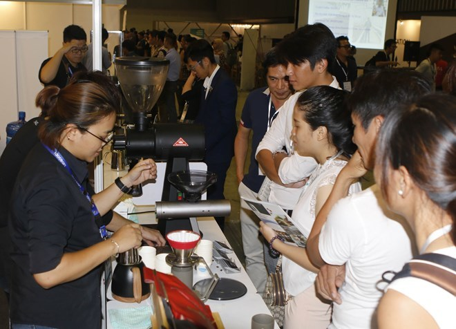 Vietnam Cafe Show 2019 opens in HCM City