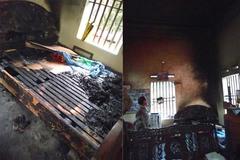 Hà Nam: Nghi án con gái tẩm xăng, đốt mẹ lúc nửa đêm
