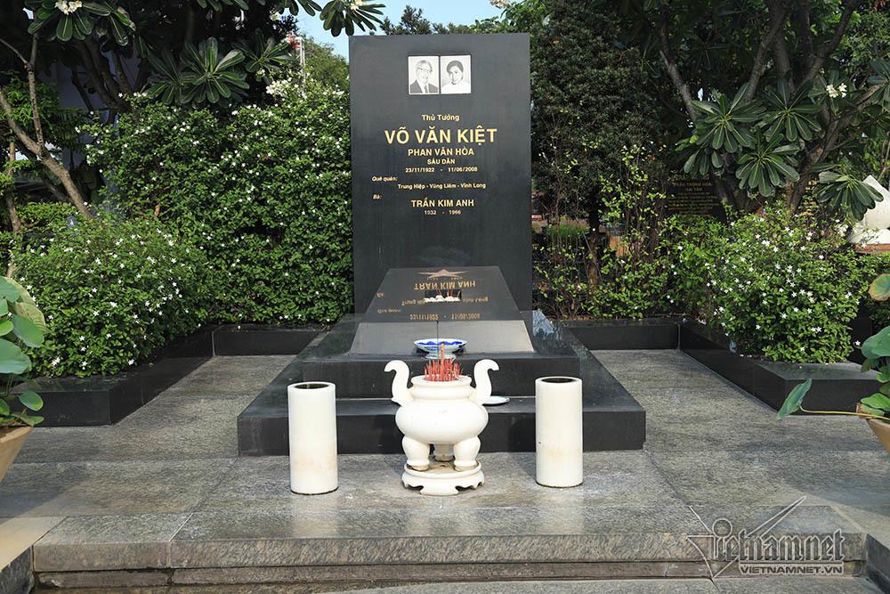 Hình ảnh nơi an nghỉ của Đại tướng Lê Đức Anh