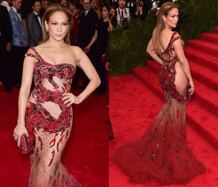 Những bộ váy mặc như không của sao trên thảm đỏ Met Gala