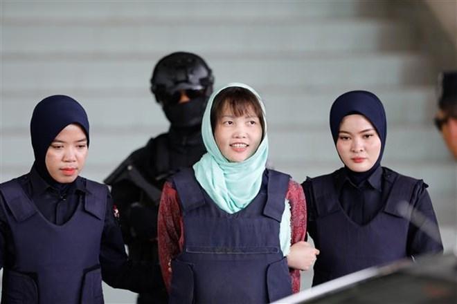 Vietnamese woman held in Malaysia for murder of N Korean man set free