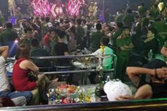 Đột kích quán bar giữa trung tâm Đà Nẵng, 80 người dương tính ma túy