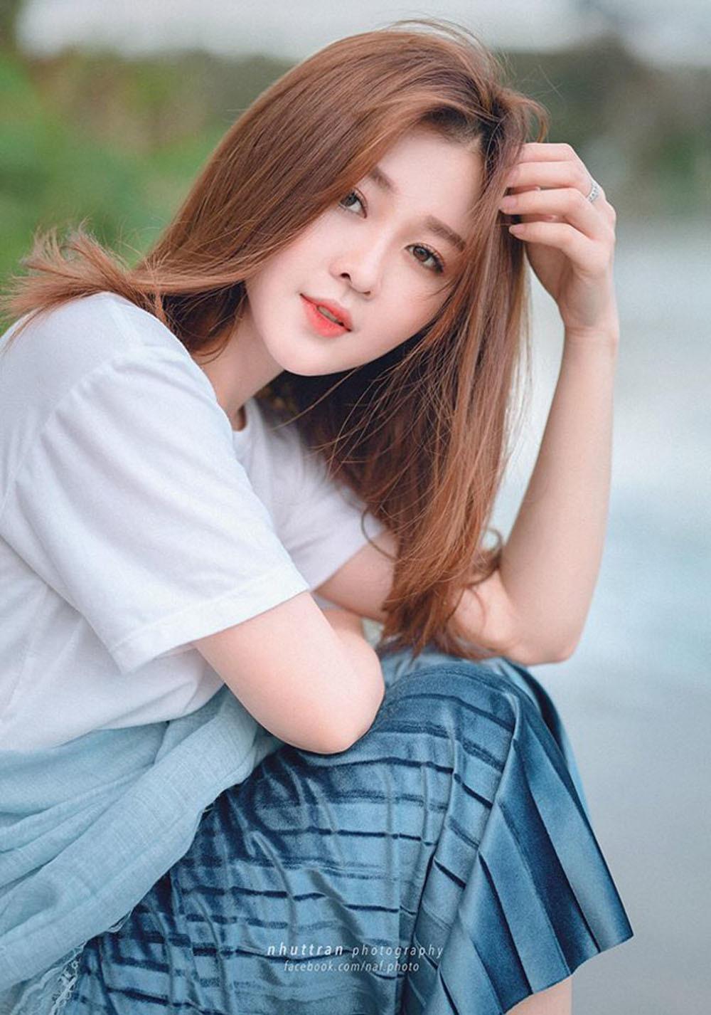Hot girl,Trâm Anh