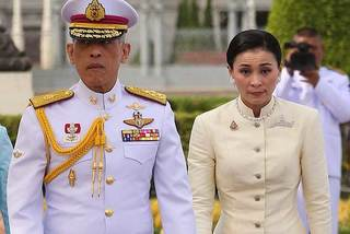 Chuyện tình của Vua Thái Lan và tân hoàng hậu