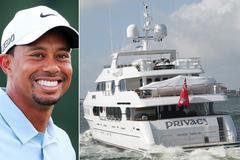 Tiger Woods mang du thuyền 20 triệu USD dự giải PGA