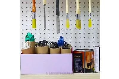 Mẹo vặt giúp nhà cửa gọn gàng từ chi tiết nhỏ nhất
