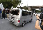 Hình ảnh Đoàn Thị Hương rời nhà tù Malaysia
