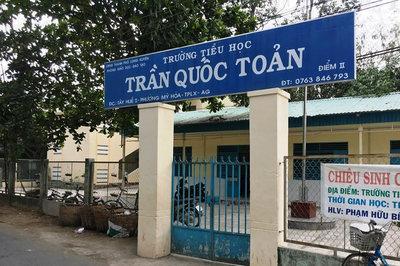 Toàn cảnh vụ phụ huynh nghi dâm ô nhiều học sinh lớp 1 tại An Giang