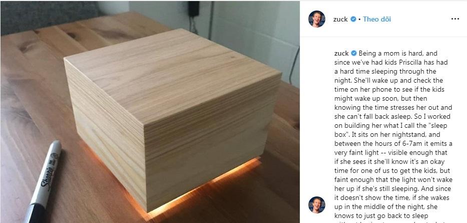 Món quà tự tay ông chủ Facebook làm tặng vợ khiến chị em ghen tị