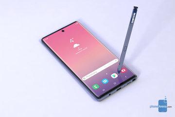 Galaxy Note 10 sẽ dùng màn hình cong, camera selfie ở giữa?
