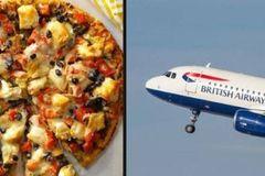 Giới siêu giàu Nigeria đặt pizza ở Anh, ship về nước bằng máy bay hạng sang