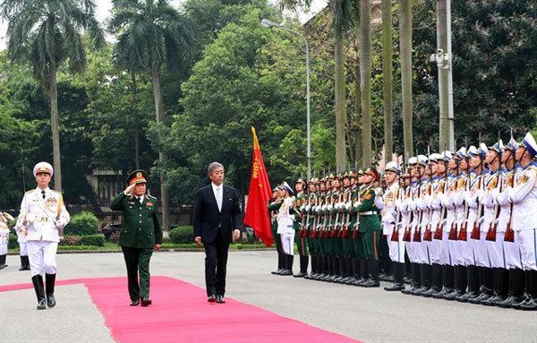 Vietnam, Japan reinforce defence ties