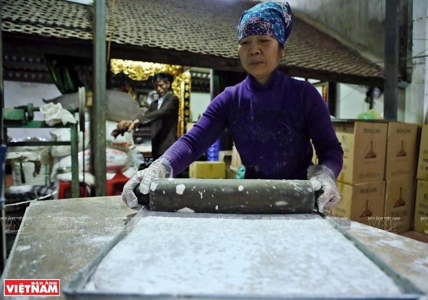 Sweet sticky rice flour cake