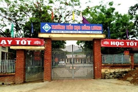 bạo lực học đường,Trường Tiểu học Đồng Lương