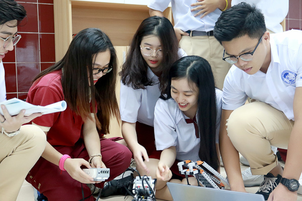 Học sinh trường Quốc tế Á Châu chinh phục hàng loạt giải thưởng