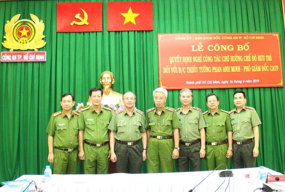 Phan Anh Minh,Đinh Thanh Nhàn,Công an TPHCM,bổ nhiệm cán bộ,nhân sự