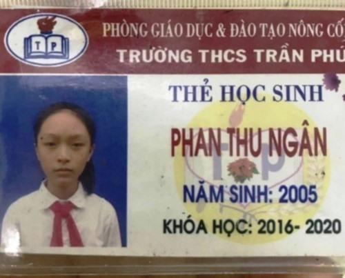 Nữ sinh Thanh Hoá lên xe khách đi Hà Nội rồi mất tích bí ẩn