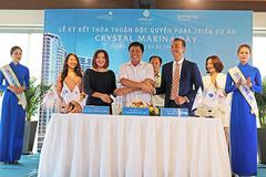 Crystal Bay ký kết độc quyền phát triển dự án Crystal Marina Bay