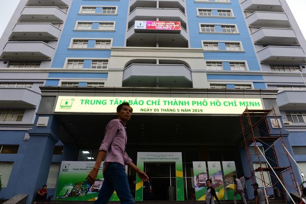 Trung tâm báo chí TP.HCM: 'Mái nhà chung, tòa soạn thứ 2 của nhà báo'