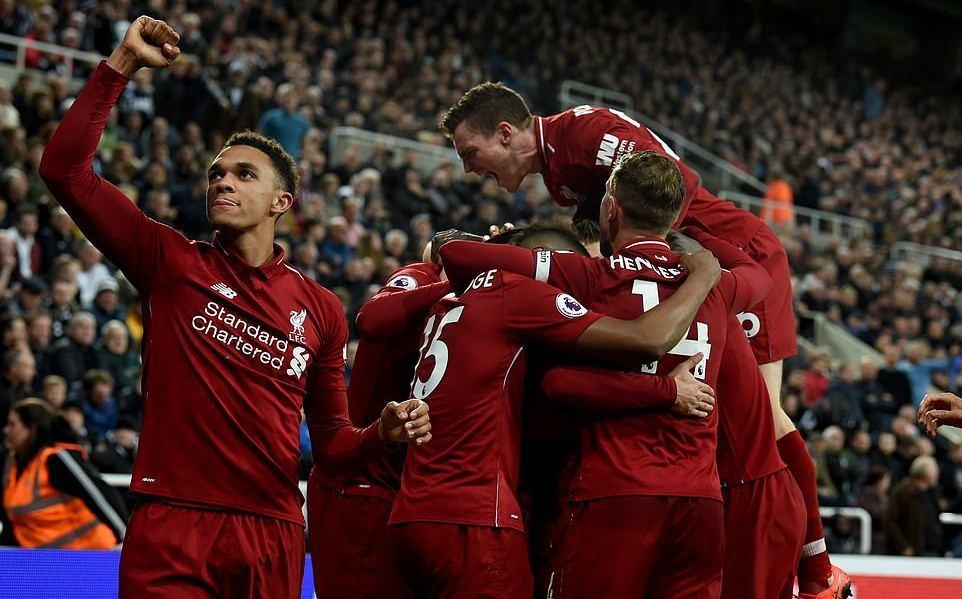 Newcastle,Liverpool,Salah