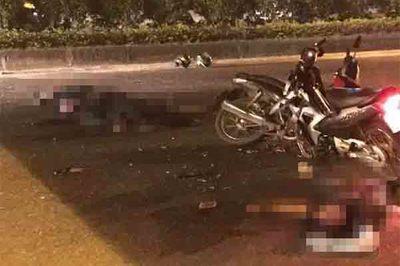 Đại úy cảnh sát cơ động Hà Nội hi sinh khi truy bắt xe máy kẹp 3