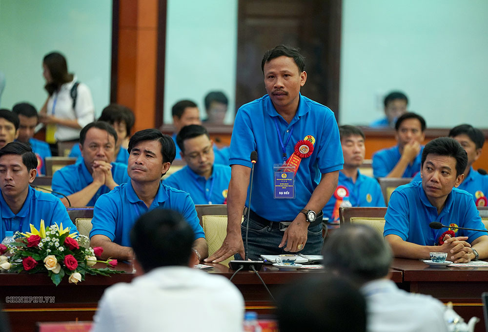 Thủ tướng Nguyễn Xuân Phúc,Nguyễn Xuân Phúc,công nhân